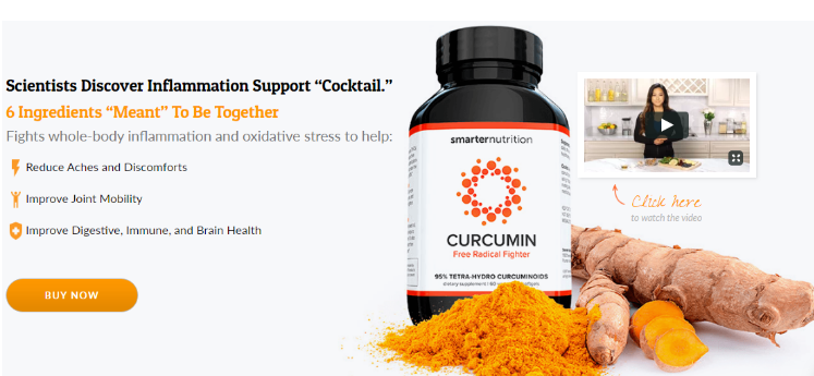 Smarter Nutrition Curcumin Reviews & Price for Sale- [Updated 2019]