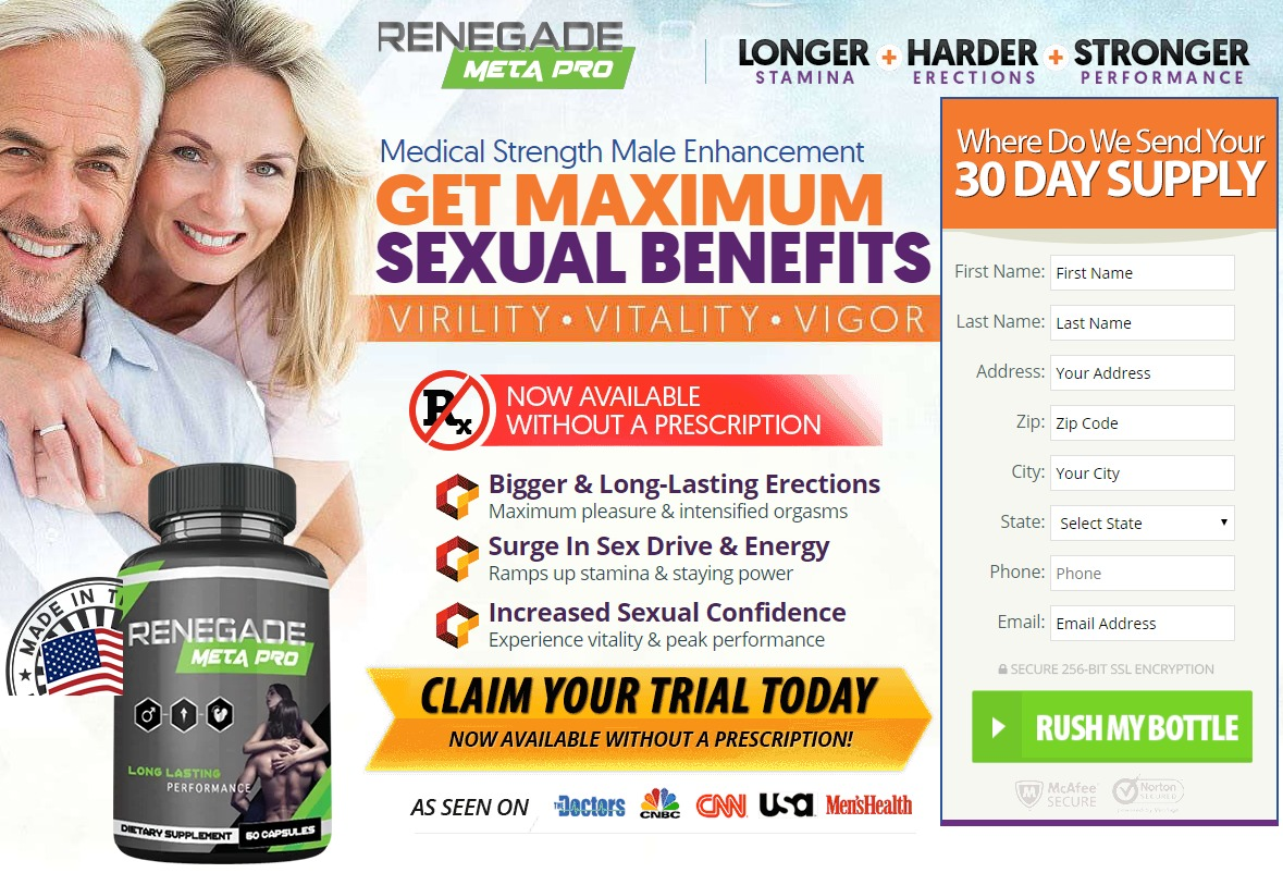Renegade Meta Pro Male Enhancement