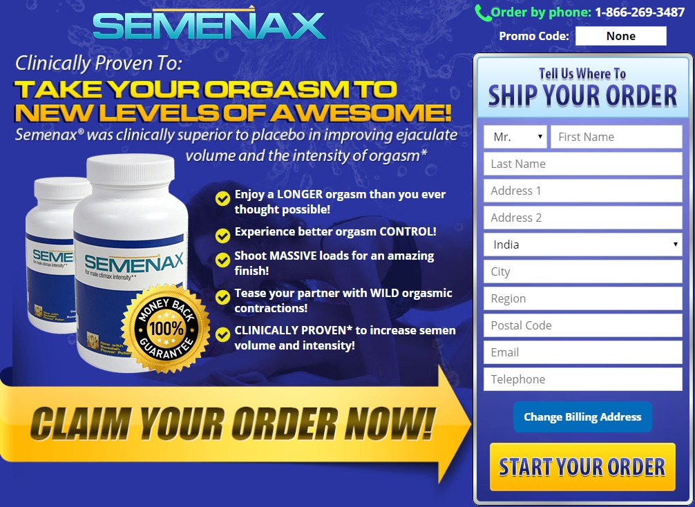 Semenax Male Enhancement Reviews- Price for Sale, Side Effects, Ingredients